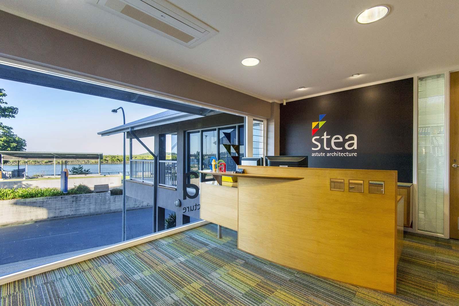 Stea Office Mackay River Street Reception